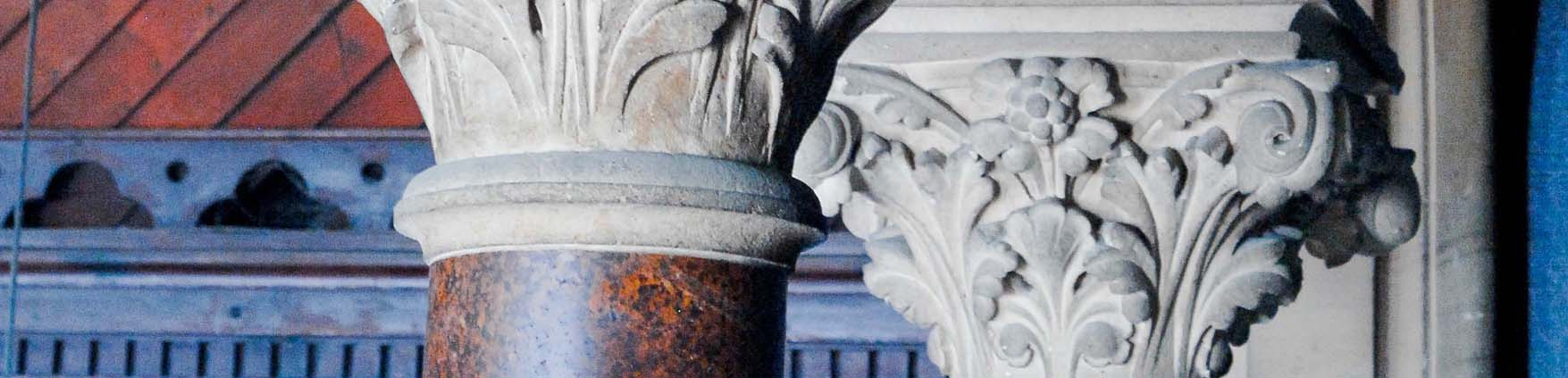 corinthian column by T Morgan Owen